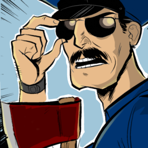 First Clip Released of The Axe Cop Animated Series