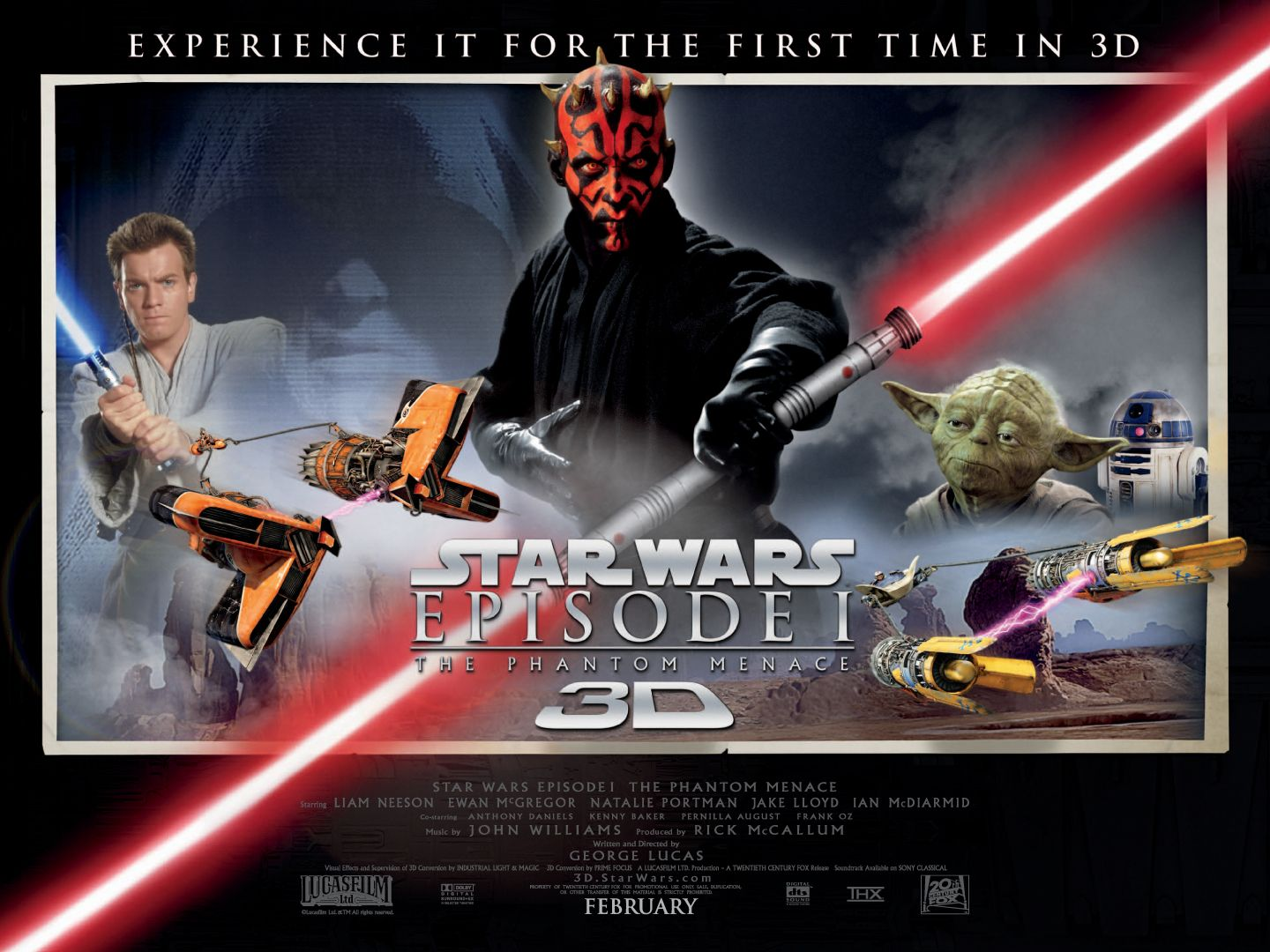 Stars Wars Revenge Of The Sith 3d Gets An Earlier Release Date Confessions Of A Nerf Herder