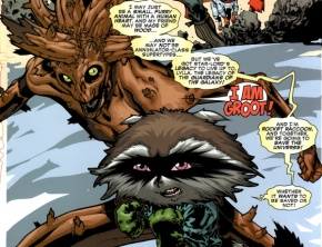 "Chris Pratt Talks Rocket Raccoon In ""Guardians Of The Galaxy"""