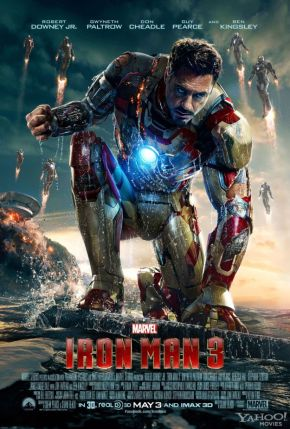 "New ""Iron Man 3"" Poster; Iron… Men?!?!"