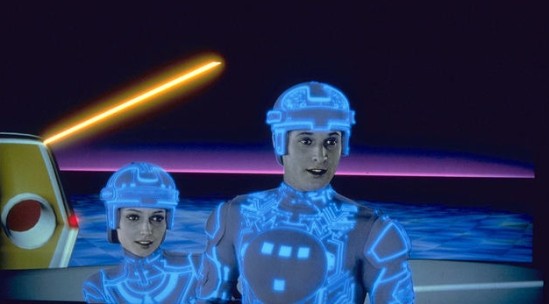 TRON-Bruce-Boxleitner-and-Cindy-Morgan