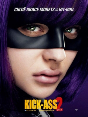 "New Hit-Girl Poster For ""Kick-Ass 2"""