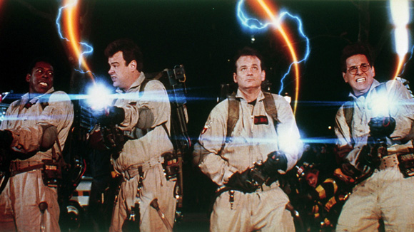 Ernie Hudson, Dan Aykroyd, Billy Murray and Harold Ramis