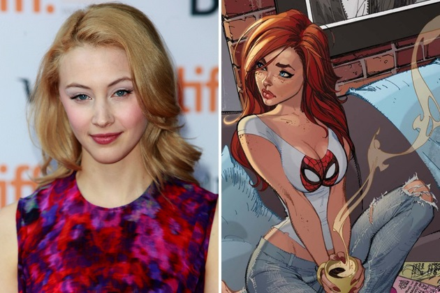 """New Mary Jane Cast For """"The Amazing Spider-Man 3 ..."""