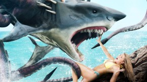"Video: Two Teasers For ""Sharktopus Vs Mermantula"""
