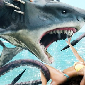 "Video: Two Teasers For ""Sharktopus Vs Mermantula"""