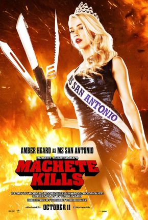 "New ""Machete Kills"" Poster Features Amber Heard"