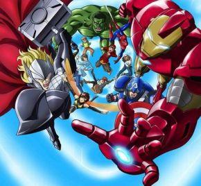 Marvel Announce New Avengers AnimeSeries