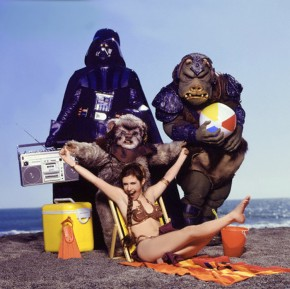 "Awesome ""Star Wars"" Beach Shoot From 1983"
