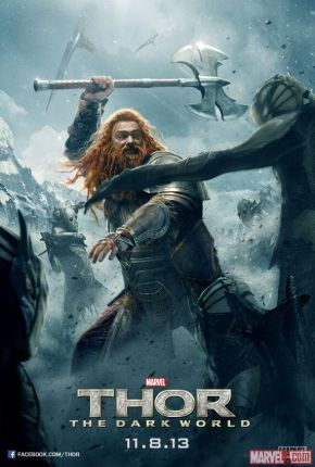 "Two New ""Thor: The Dark World"" Poster"