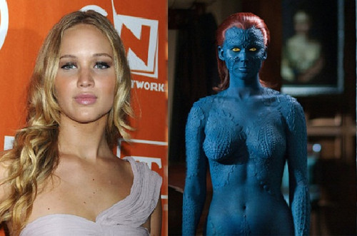 Jennifer Lawrence Updates On Mystique In    X-Men  Days Of Future Past    X Men Days Of Future Past Mystique Jennifer Lawrence