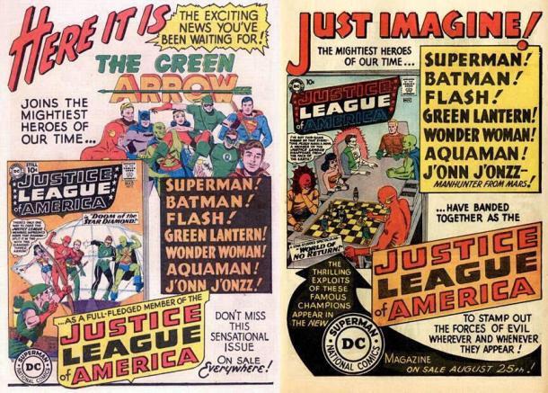 Arrow Justice League