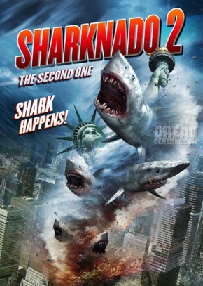 "Video: 3-Minute Preview of ""Sharknado 2"""