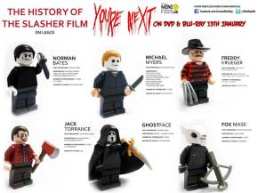 Brilliant LEGO History of Horror Icons