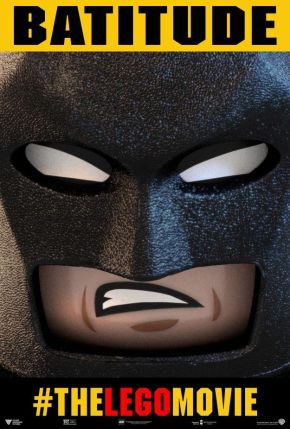 """Batman and Superman Featured in New """"The LEGO Movie""""Posters"""