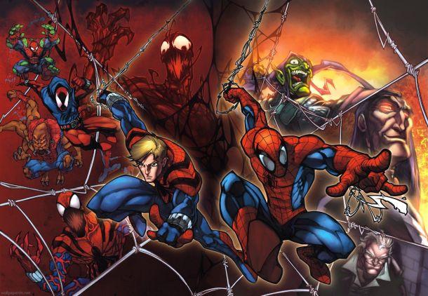 spider-man-clone-saga-frank-cho-spider-man-Anime