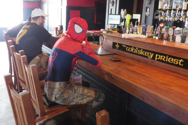 Spider-Man Bar