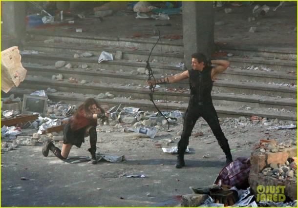 Set Film set sequel The Avengers