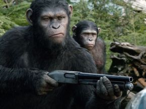 "New Images Give New Look at ""Dawn of the Planet of the Apes"""