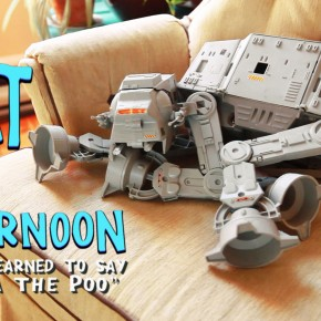 Video of the Week: I Want an Awesome AT-AT Pet!