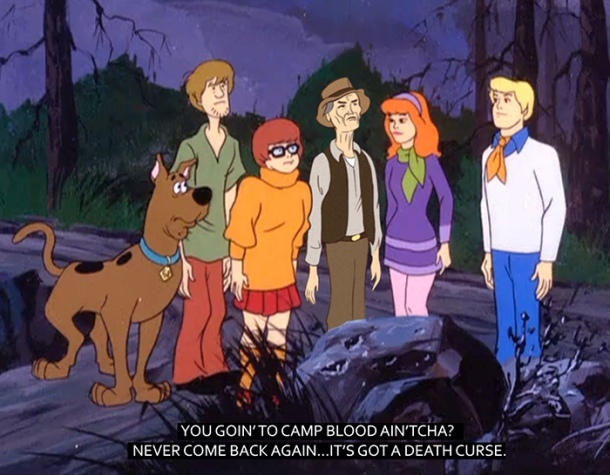 Scooby Doo Friday 13th