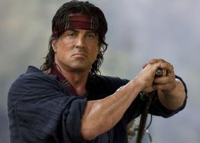 """Stallone Training for """"Rambo5"""""""